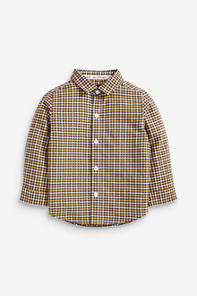 Next Long Sleeve Gingham Check Shirt (3mths-7yrs) - 269197