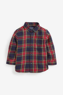 Next Long Sleeve Tartan Shirt (3mths-7yrs) - 269204