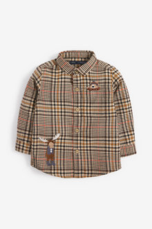 Next Long Sleeve Heritage Check Shirt (3mths-7yrs) - 269206