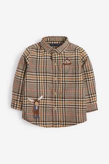 Next Long Sleeve Heritage Check Shirt (3mths-7yrs) - 269206