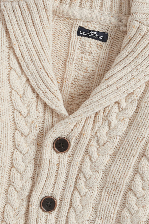 Next Cable Button Through Cardigan (3mths-7yrs)