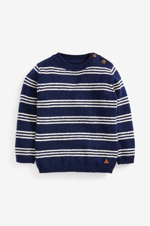 Next Stripe Cosy Jumper (3mths-7yrs) - 269249