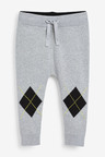 Next Knitted Argyle Pattern Hoody And Joggers Set (3mths-7yrs)