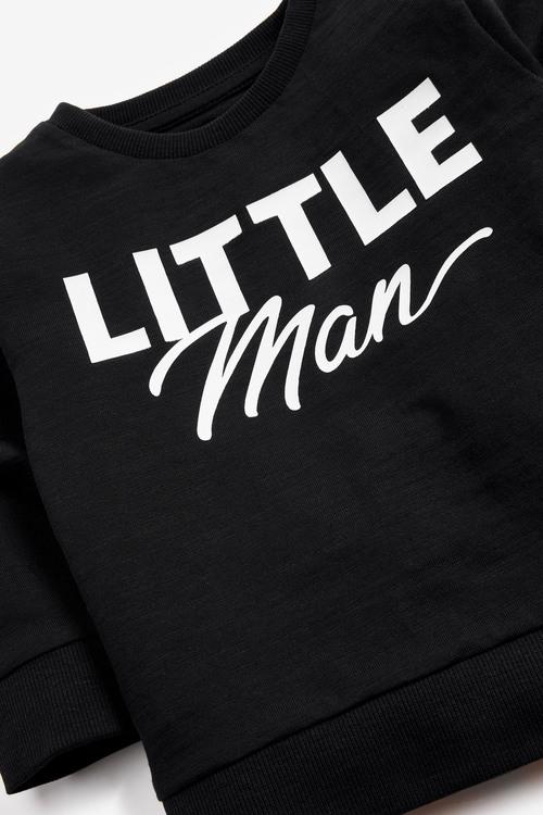 Next Lightweight Little Man Crew Neck Top (3mths-7yrs)