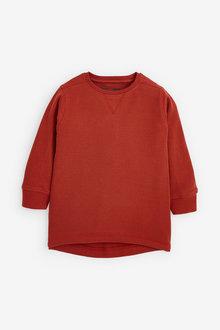 Next Long Sleeves Textured T-Shirt (3mths-7yrs) - 269333