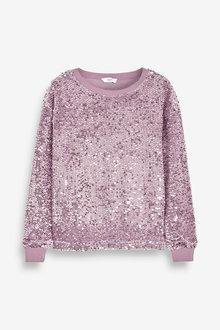 Next Sequin Sweatshirt - 269366