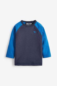 Next Jersey Raglan Long Sleeve T-Shirt (3mths-7yrs) - 269411