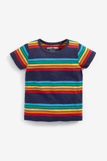 Next Short Sleeve Stripe T-Shirt (3mths-7yrs) - 269417