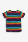 Next Short Sleeve Stripe T-Shirt (3mths-7yrs)