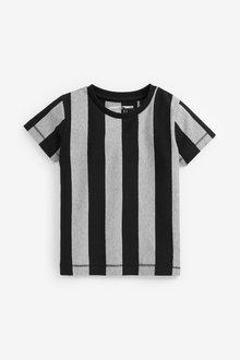Next Short Sleeve Vertical Stripe T-Shirt (3mths-7yrs) - 269423