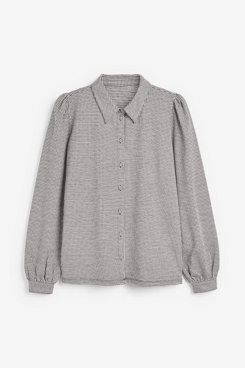 Next Check Jacquard Shirt
