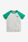 Next 4 Pack Raglan Sleeve T-Shirts (3mths-7yrs)