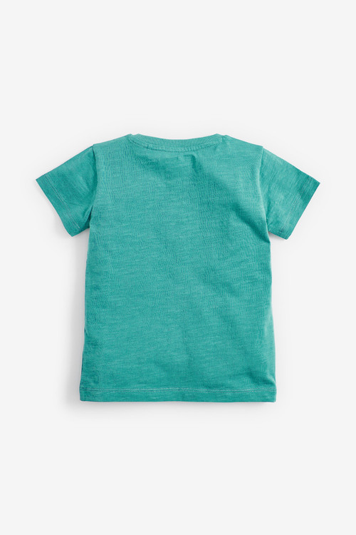 Next 5 Pack Short Sleeve T-Shirts (3mths-7yrs)