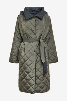 Next Quilted Reversible Coat - 269516