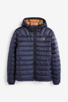 Next Shower Resistant Quilted Hooded Jacket With DuPont Sorona® Insulation-Regular