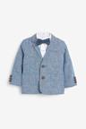 Next Blazer, Shirt, Shorts And Bow Tie Set (3mths-7yrs)