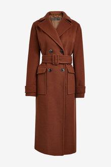 Next Emma Willis Belted Coat - 269560