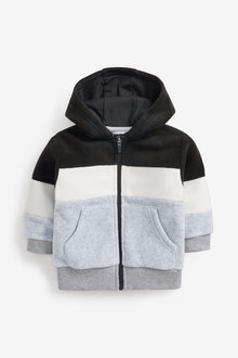 Next Fleece Zip Through Hoody (3mths-7yrs) - 269592