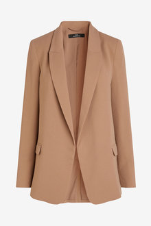 Next Relaxed Soft Crepe Blazer - Tall - 269954