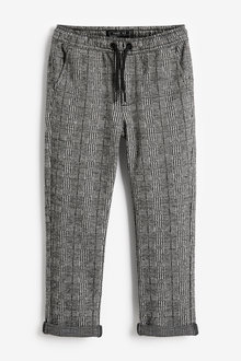 Next Pull-On Check Trousers (3-16yrs) - 270021