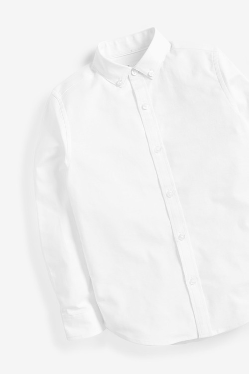 Next Long Sleeve Oxford Shirt (3-16yrs)