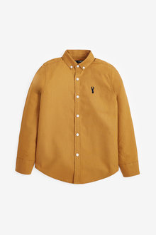 Next Long Sleeve Oxford Shirt (3-16yrs) - 270036
