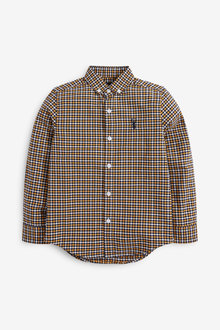 Next Long Sleeve Oxford Shirt (3-16yrs) - 270037