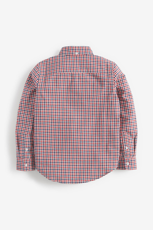 Next Long Sleeve Gingham Check Shirt (3-16yrs)