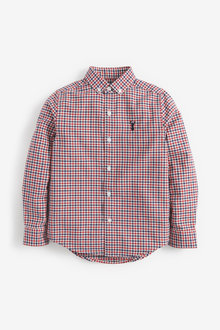 Next Long Sleeve Gingham Check Shirt (3-16yrs) - 270038
