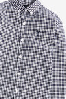 Next Long Sleeve Gingham Check Oxford Shirt (3-16yrs)