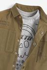 Next Long Sleeve Shirt And T-Shirt Set (3-16yrs)