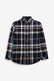 Next Check Long Sleeve Shirt (3-16yrs) - 270063