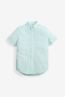 Next Short Sleeve Oxford Shirt (3-16yrs) - 270075