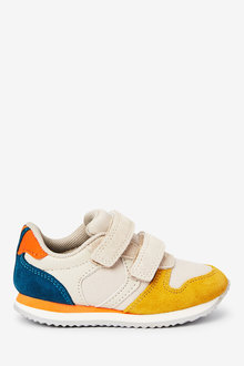 Next Double Strap Trainers (Younger) - 270106