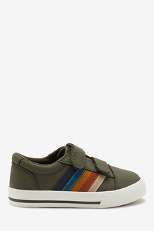 Next Stripe Strap Touch Fastening Shoes (Younger) - 270140