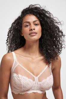 Next Daisy Non Padded Wire Free Lace Total Support Bra - 270168