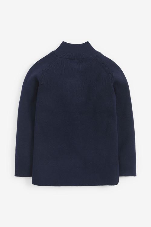 Next Knitted Zip Through Cardigan (3-16yrs)
