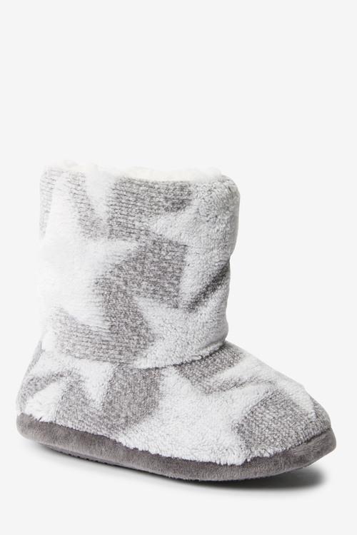 Next Star Fleece Slipper Boots (Younger)