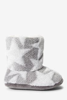 Next Star Fleece Slipper Boots (Younger) - 270184