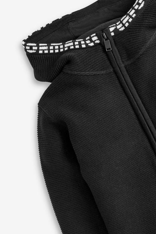 Next Ripple Knitted Zip Through Hoody (3-16yrs)