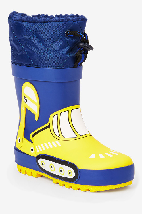 Next Digger Thinsulate Cuff Wellies (Younger)