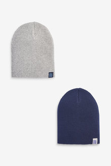 Next 2 Pack Beanies (Younger) - 270235