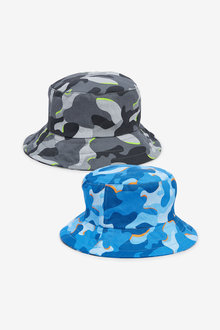 Next 2 Pack Camouflage Bucket Hats (Younger) - 270252