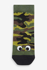 Next 7 Pack Glow In The Dark Camouflage Socks (Younger)