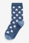 Next 7 Pack Cotton Rich Star Socks (Younger)