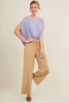 Capture Wide Leg Pull On Pant - 270280
