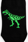 Next 5 Pack Cotton Rich Dinosaur Trainer Socks (Younger)