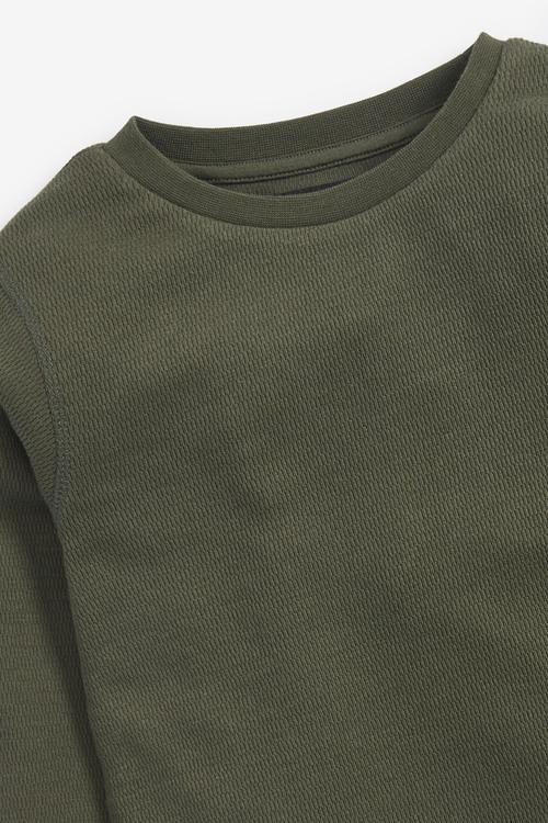 Next 3 Pack Cosy Eyelet T-Shirts (3-16yrs)