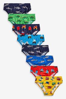Next 7 Pack Nursery Print Briefs (1.5-10yrs) - 270304