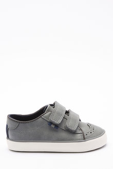 Next Brogue Strap Touch Fastening Shoes (Younger) - 270326